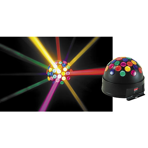 American DJ Sunray LED DMX Mirror Ball Effect