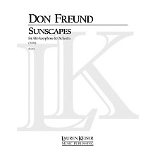 Lauren Keiser Music Publishing Sunscapes (Piano Reduction) LKM Music Series by Don Freund