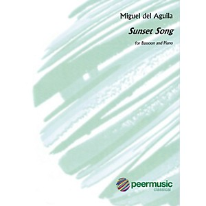 Peer Music Sunset Song Bassoon and Piano Peermusic Classical Series Book ...