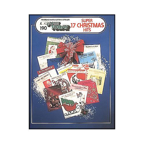 Hal Leonard Super 17 Christmas Hits E-Z Play 190-thumbnail