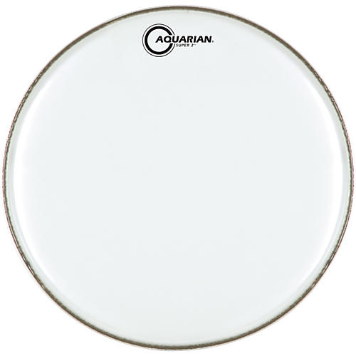 Aquarian Super-2 Clear Drumhead-thumbnail