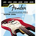 Fender Super 250M Nickel/Steel Medium Ball End Electric Guitar Strings  Thumbnail