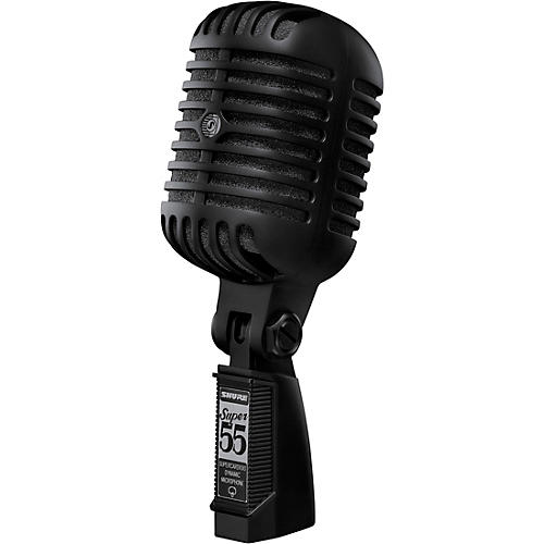 Shure Super 55-Black Limited Edition Dynamic Microphone