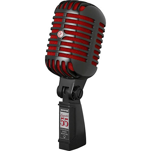 Shure Super 55 Black Special Edition Deluxe Vocal Microphone