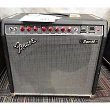 Fender Super 60 60W 1x12 Tube Guitar Combo Amp