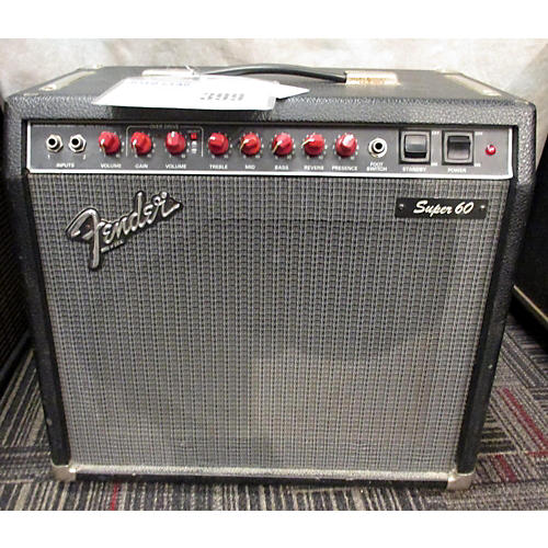 Fender Super 60 60W 1x12 Tube Guitar Combo Amp-thumbnail