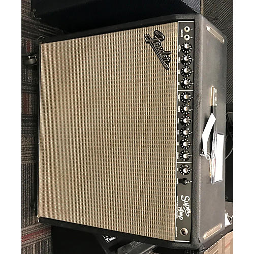 Fender Super Amp 4x10 Tube Guitar Combo Amp-thumbnail