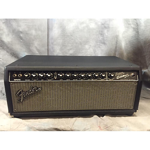 Fender Super Bassman 300W Tube Bass Amp Head-thumbnail