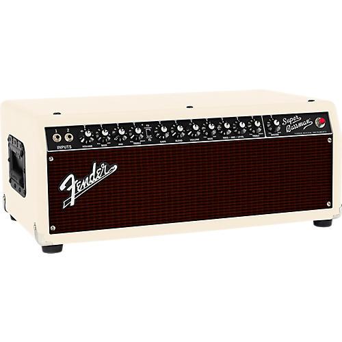 Fender Super Bassman 300W Tube Bass Head Blonde/Oxblood