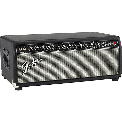 Fender Super Bassman Pro 300W Tube Bass Amp Head Black
