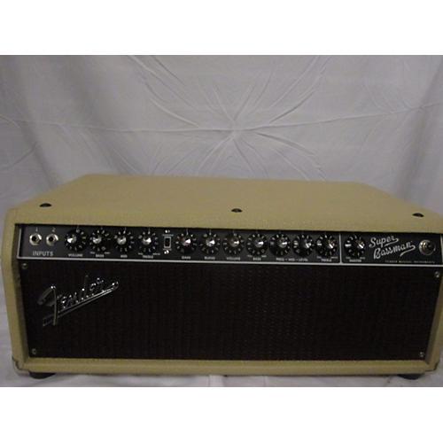 Fender Super Bassman Pro 300W Tube Bass Amp Head-thumbnail
