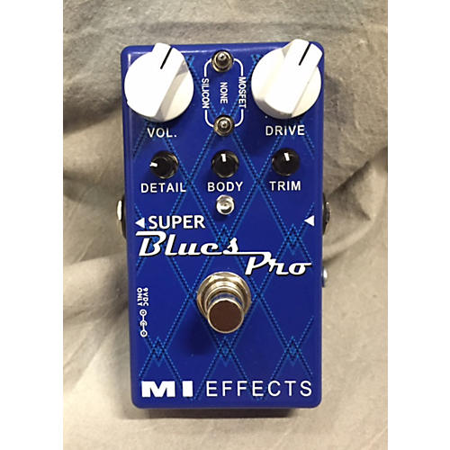 In Store Used Super Blues Pro Effect Pedal