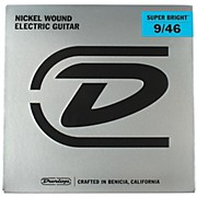 Dunlop Super Bright Light Top/Heavy Bottom Nickel Wound Electric Guitar Strings (9-46)