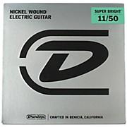 Dunlop Super Bright Medium Heavy Nickel Wound Electric Guitar Strings (11-50)