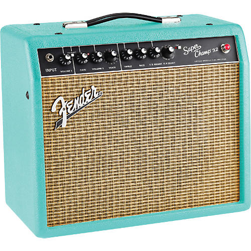 Fender Super-Champ X2 15W 1x10 Tube Guitar Combo Amp-thumbnail