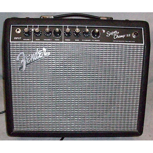 Fender Super Champ X2 15W 1x10 Tube Guitar Combo Amp-thumbnail
