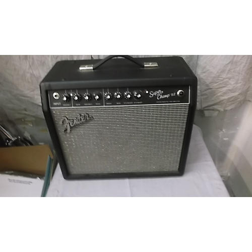 Fender Super Champ X2 15W 1x10 Tube Guitar Combo Amp
