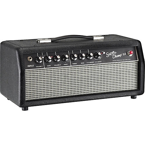 Fender Super-Champ X2 HD 15W Tube Guitar Amp Head-thumbnail