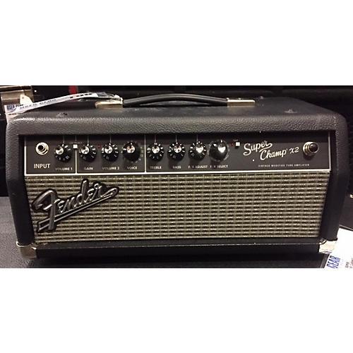 Fender Super Champ X2 HD 15W Tube Guitar Amp Head-thumbnail