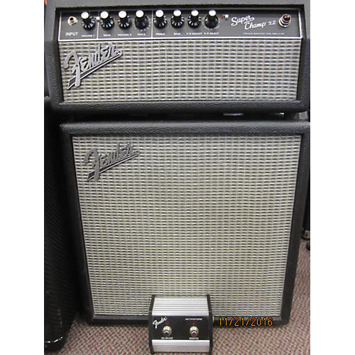 Fender Super Champ X2 Half Stack Guitar Stack-thumbnail