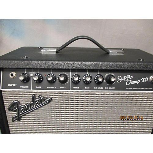 Fender Super Champ XD 15W 1x10 Guitar Combo Amp-thumbnail