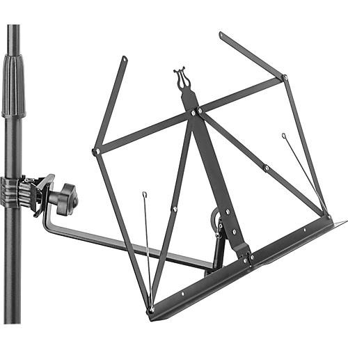Stagg Super Clamp Folding Music Stand-thumbnail