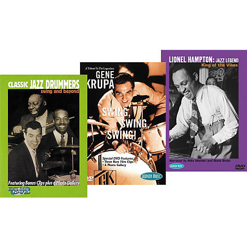 Hudson Music Super Classic Jazz Trio DVD Pack