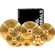 Meinl Super Cymbal Set Pack with a Free 16-Inch Crash
