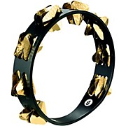 Meinl Super-Dry Studio Wood Tambourine Two Rows Brass Jingles