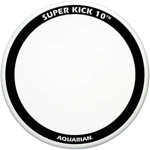 Aquarian Super-Kick 10 Bass Drum Head White Coated 22 in.
