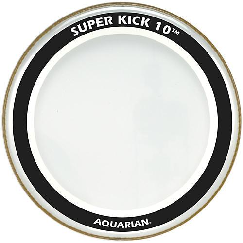 Aquarian Super-Kick 10 Bass Drumhead Clear 18 in.