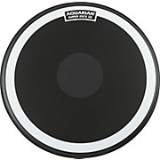 Aquarian Super-Kick III Black Drumhead