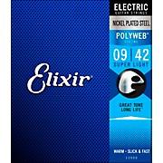 Elixir Super Light Polyweb Electric Guitar Strings