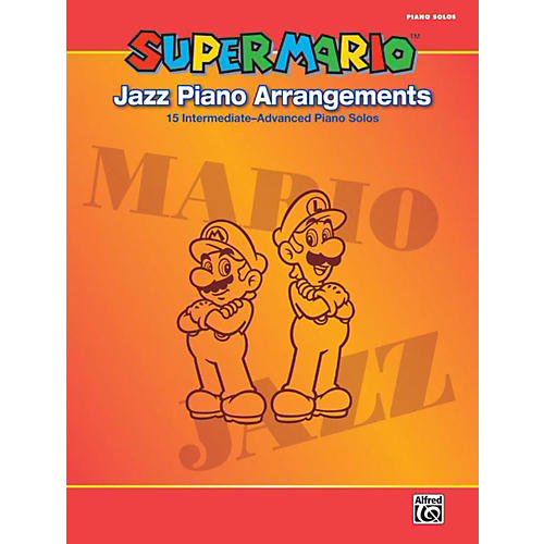 Alfred Super Mario Jazz Piano Arrangements Book-thumbnail