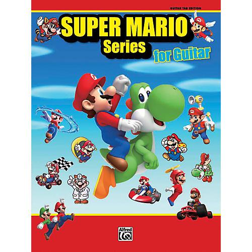 Alfred Super Mario Series for Guitar Book