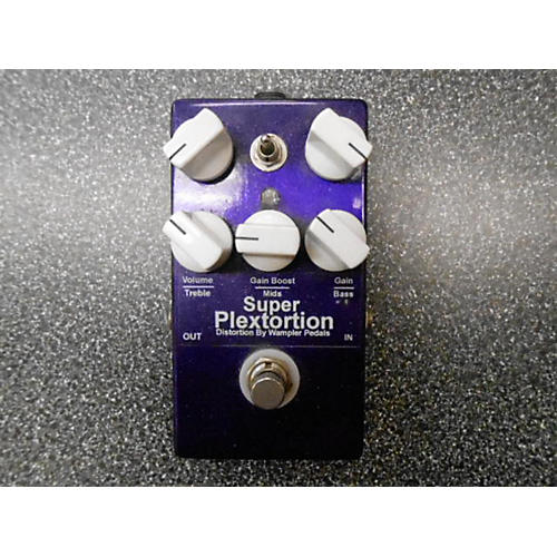 Wampler Super Plextortion Purple Effect Pedal Purple-thumbnail