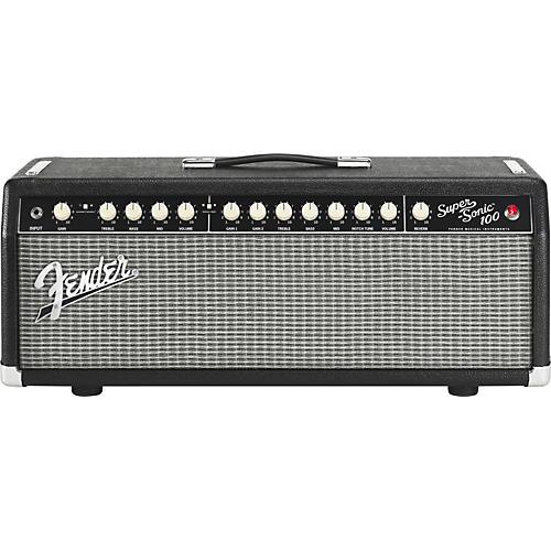 Fender Super-Sonic 100 100W Tube Guitar Amp Head Black