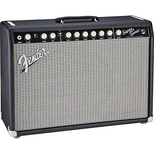 Fender Super-Sonic 22 22W 1x12 Tube Guitar Combo Amp