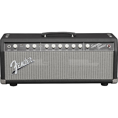 Fender Super Sonic 22 22W Tube Guitar Amp Head Black