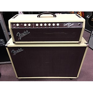 Pre-owned Fender Super Sonic 60 2x12 Cabinet and Head Combo Guitar Stack