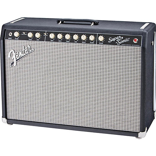 Fender Super-Sonic 60 60W 1x12 Tube Guitar Combo Amp Black