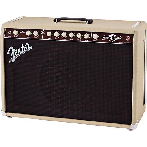 Fender Super-Sonic 60 60W 1x12 Tube Guitar Combo Amp Blonde