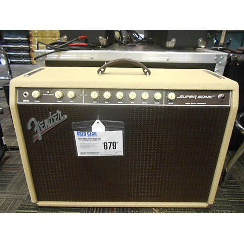Fender Super Sonic 60W 1x12 Tube Guitar Combo Amp-thumbnail