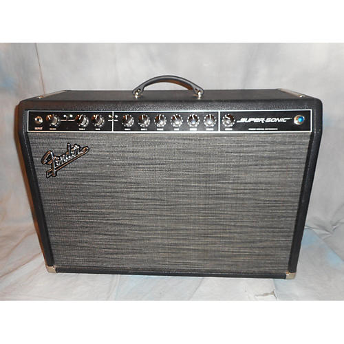 Fender Super Sonic 60W Tube Guitar Amp Head-thumbnail