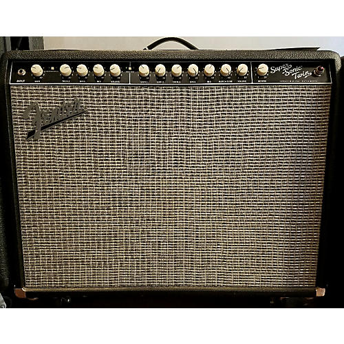 Fender Super Sonic Twin 100W 2x12 Guitar Combo Amp-thumbnail
