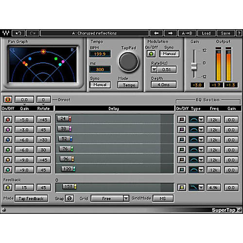 Waves SuperTap Native/TDM/SG Software Download-thumbnail