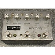 Empress Effects Superdelay Digital Delay Limited/unfinished Edition Effect Pedal