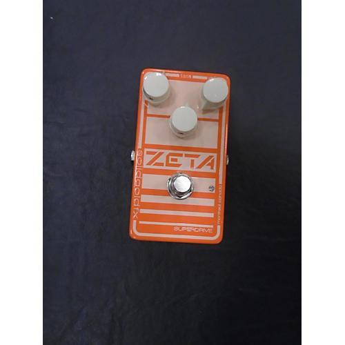 Zeta Superdrive Effect Pedal-thumbnail