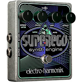 electro harmonix superego synth guitar effects pedal guitar center. Black Bedroom Furniture Sets. Home Design Ideas