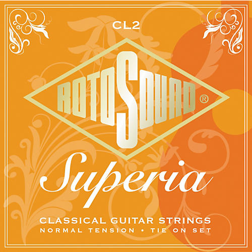 Rotosound Superia Normal Tension Tie-On Classical Guitar Strings-thumbnail